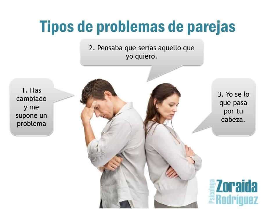 Cómo solucionar problemas de pareja - Psicóloga Zoraida Rodríguez